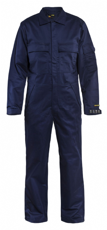 Blaklader 6704 Anti-Flame Fire Retardant Overall (Navy Blue)